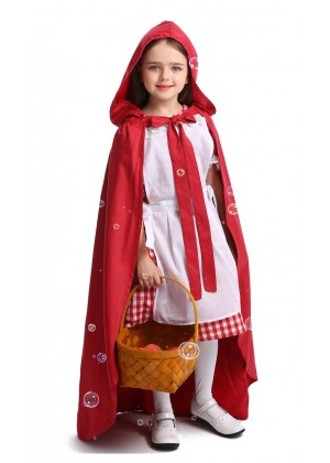 Red Riding Hood Costume Girls