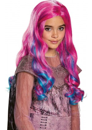 Kids Descendants 3 Mal Wig