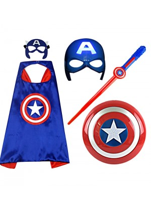 Captain America Kids Costume Toy Set tt3103