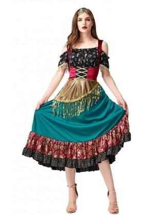 Womens Circus Starlight Gypsy Costume