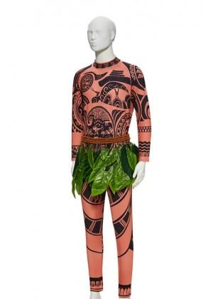 Kids Moana Maui Tattoo Costume