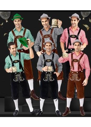 Gentleman Oktoberfest Bavarian Costume  tt3148TgreenPbrown