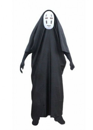 Adult Spirited Away Faceless Costume + Mask