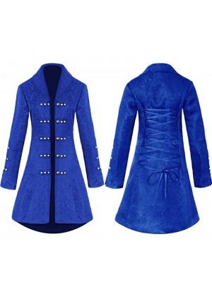 Ladies blue Vintage Tailcoat tt3183