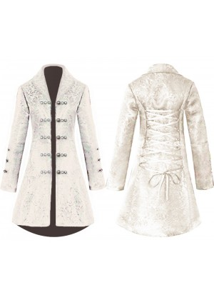 Ladies cream Vintage Tailcoat tt3183