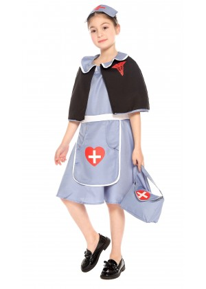 Kids Nightingale Nurse Costume vb4010