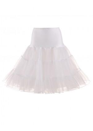 White 50s Vintage Petticoat tt3113w