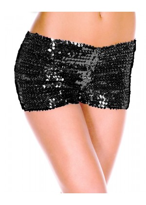 Black Sequin short 145black