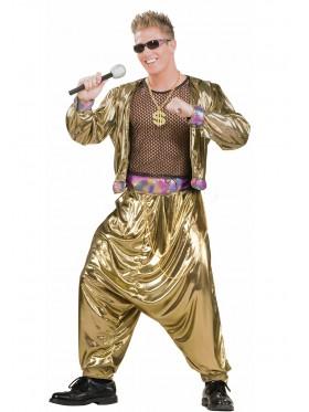 Dollar Medallion Bling Ali G Gangster 80s Hip Hop Costume Necklace Accessory
