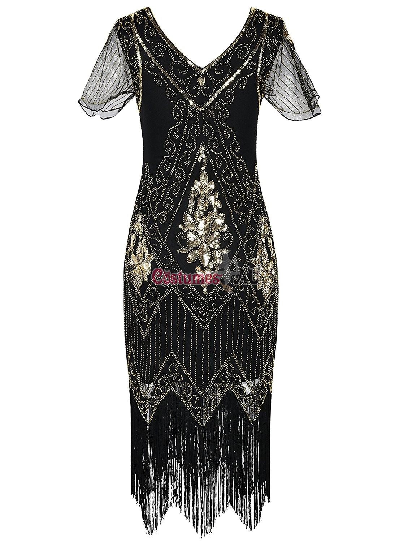 1920s Vintage Great Gatsby Charleston 20s Flapper Fancy