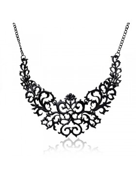 Deco Vintage 20s  Flapper Necklace Great Gatsby Downton Wedding Boho Goddess