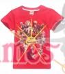 Red FORTNITE Game Boys Girls T-Shirt