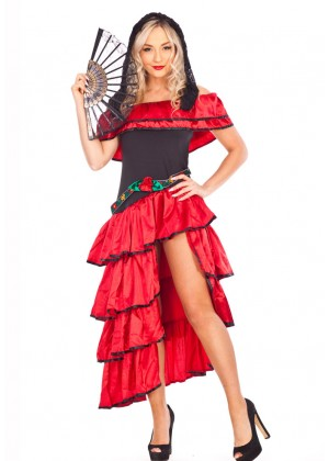 Spanish Flamenco Costumes LH-114