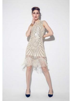 1920s flapper dress_lx1001