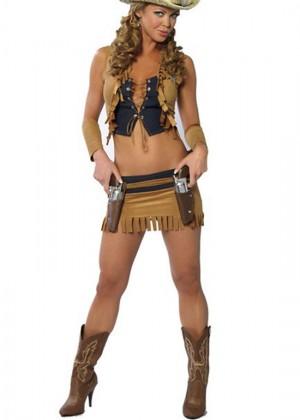 Sexy Cowgirl Sheriff Costume