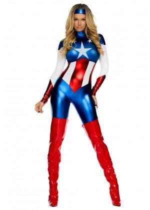Captain America Costumes LB7004_1