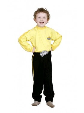 Yellow The Wiggles Boys Premium Child Kids Book Week Party Dress Up Costume