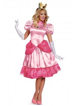 Princess Peach Super Mario Bros Nintendo Costume