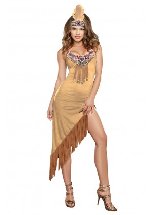 Pocahontas Native Indian Costumes lb4019_1
