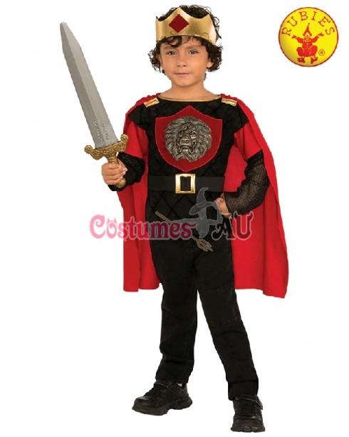 LITTLE KNIGHT CHILD BOYS MEDIEVAL FANCY DRESS HALLOWEEN COSTUME BOOK WEEK