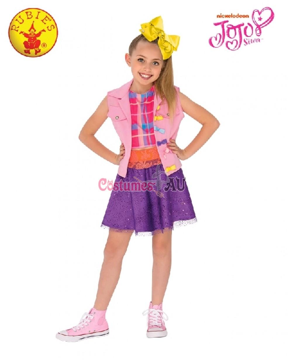 Girls Jojo Siwa 16th Birthday Costume Book Week Music Diva Child Fancy Dress