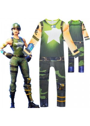 Kids Fortnite MUNITIONS EXPERT Jumpsuit Halloween Costume Cosplay Fancy Dress