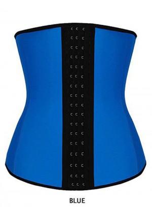 Burlesque Costumes - Latex Waist Trainer Training Cincher Underbust Corset Shaper Shapewear