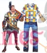 Kids Fortnite Constructor Jumpsuit Halloween Costume Cosplay Fancy Dress