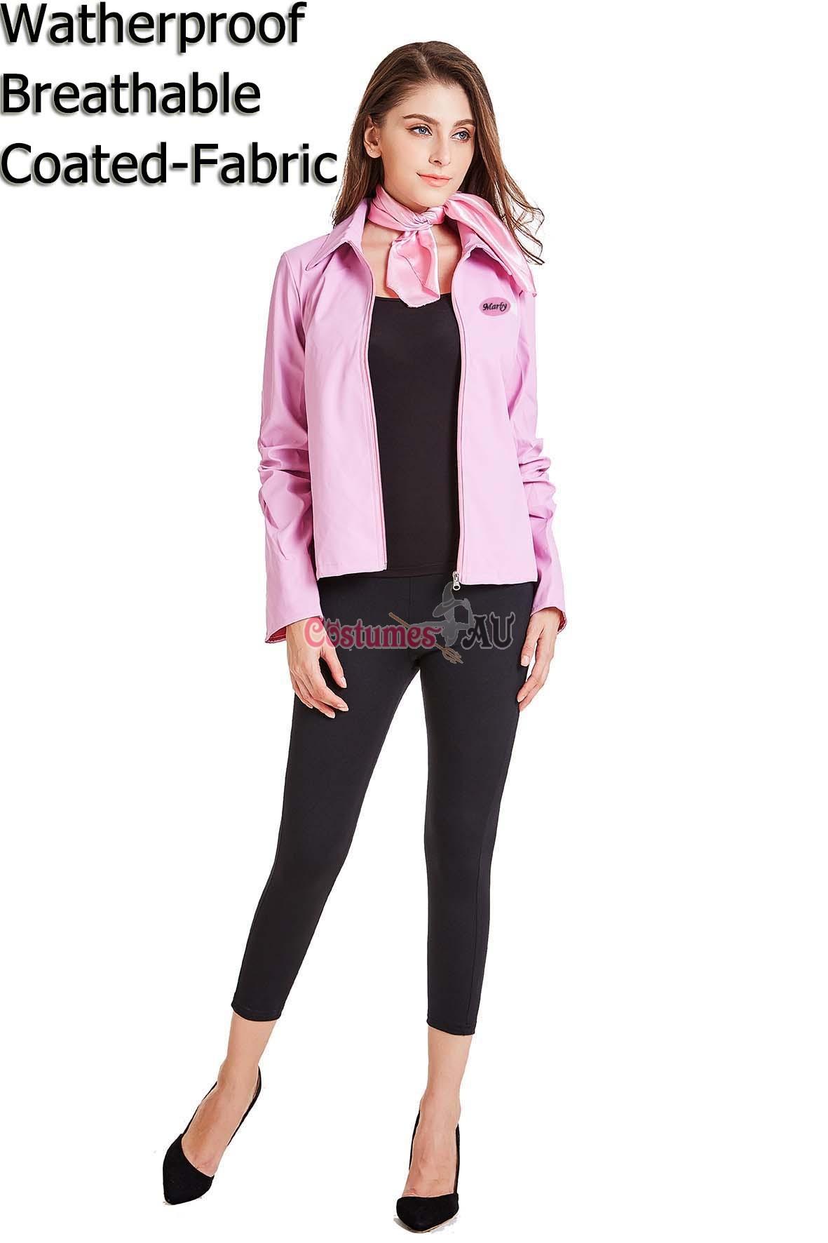 Jacket with Pink Ladies 50s 1950s costume Deluxe