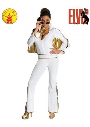 Ladies Secret Wishes Elvis Presley 50s 1950s Rock & Roll Star Dress Up Costume