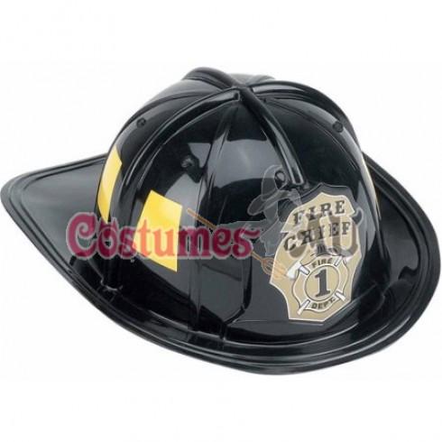 Fireman Helmet Firefighter Firehouse Costume Dress Up Party Plastic Halloween Cap Hat Accessory