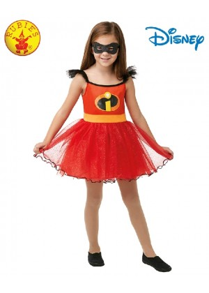 Incredibles 2 Character Costume Incredible Hero Kids Tutu Mask Licensed Disney superhero Girls