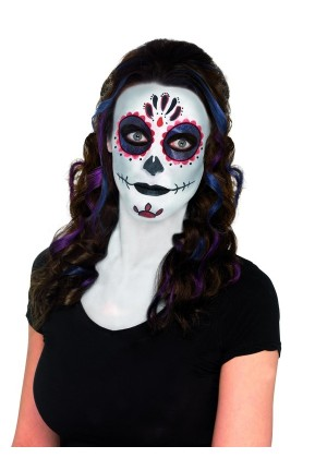 Skeleton Make Up Kit Skeleton Bones Make UP Kit Day of the Dead Make UP accessary