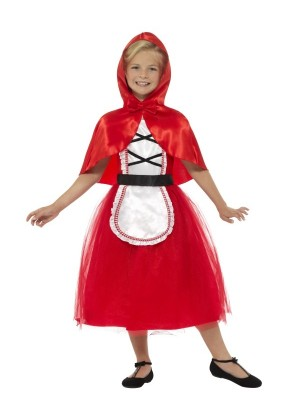 Girls Deluxe Little Red Riding Hood Costume World Book Day Book Week Fancy Dress