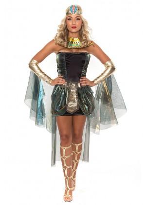 Roman Greek Costumes - Ladies Cleopatra Costume Roman Egyptian Greek Goddess Fancy Dress Outfits