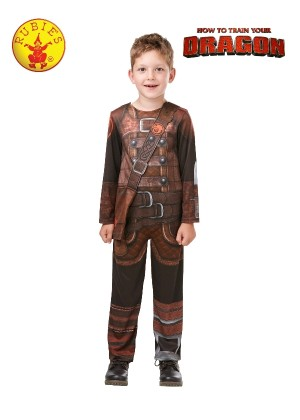 How to Train Your Dragon 3 HICCUP Child Boy Licensed Costume Halloween Party Licensed Outfit
