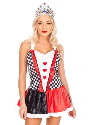 Queen of Hearts Costumes LH-132