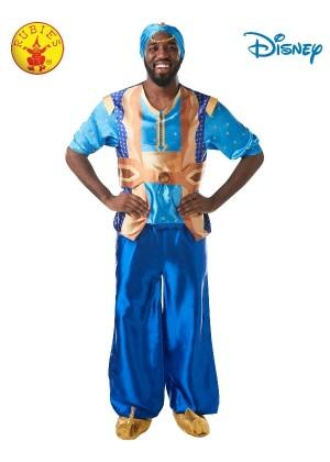 Mens Genie Aladdin Disney Live Action Halloween Fairytale Adult Costume