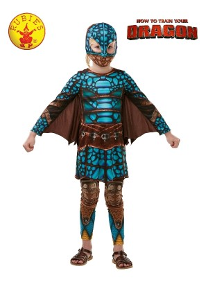 Teen How to Train Your Dragon 3 ASTRID BATTLESUIT Child Girl Licensed Costume Halloween Party Licensed Outfit