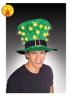ST. PATRICKS DAY LIGHT UP HAT Costume Accessories
