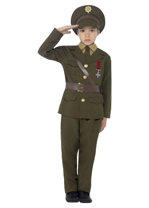 ARMY OFFICER COSTUME CS27536