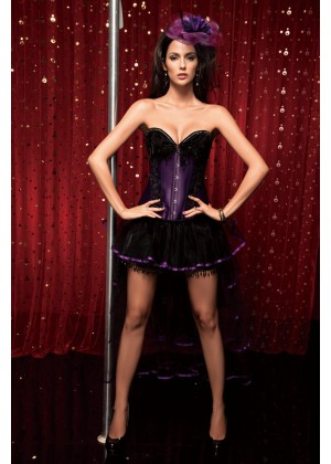 Moulin Rouge Costumes 1342PURPLE