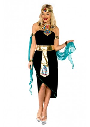 Queen Cleopatra Egyptian Goddess Fancy Dress