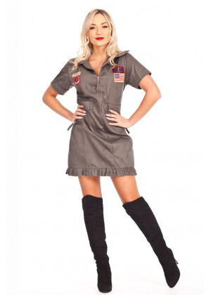 Army Top Gun Costumes VB-2033