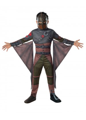 How to Train Your Dragon 2 HICCUP Child Boy Licensed Costume Halloween Party Licensed Outfit
