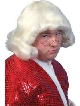 Mens Short Mushroom Head Wig