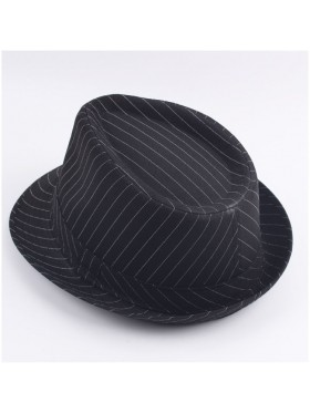 Adult 1920's 20s Gangster Hat Trilby Al Capone Gatsby Fancy Dress Costume Accessory