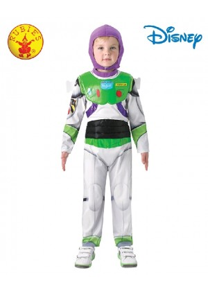Kids Disney Toy Story Delux Buzz Lightyear Fancy Dress Costume Outfit Book Week