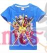 Blue FORTNITE Game Boys Girls T-Shirt
