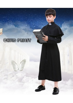 Priest Boys Book Week Costume Religious History Kids Book Week Day Outfit